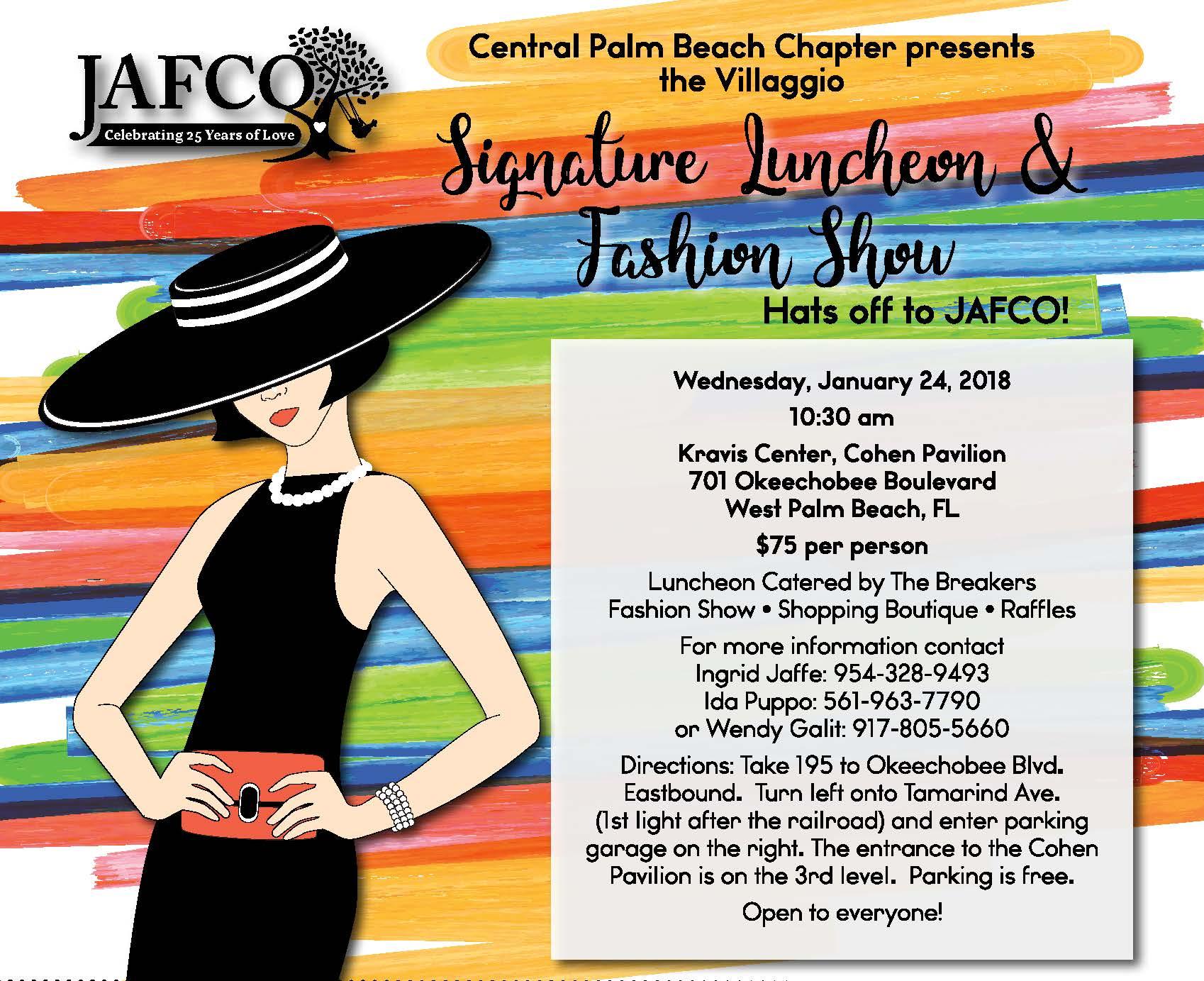 JAFCO Villaggio Signature Luncheon Fashion Show